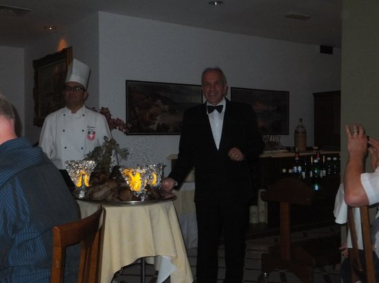 Alpha Hotel: GALA DINNER