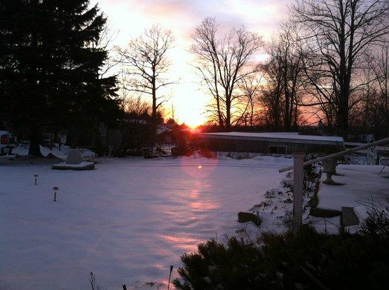 Colonial Hill Alpaca Farm and B&B: Beautiful sunsets!
