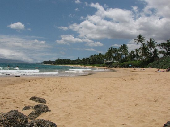 Wailea Beach: Clean sand and beautiful water