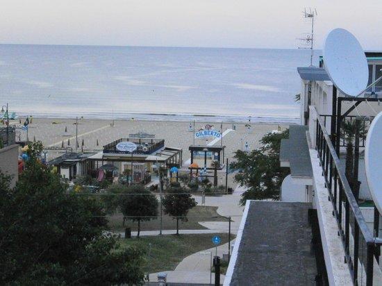 Hotel Plaza: vista mare