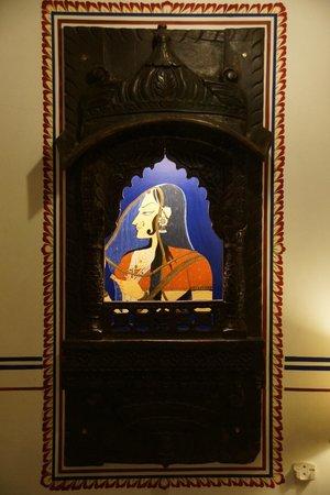 Umaid Bhawan Heritage House Hotel: Décort
