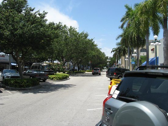 Cinquecento Pizza Gelato & Cafe: Street view