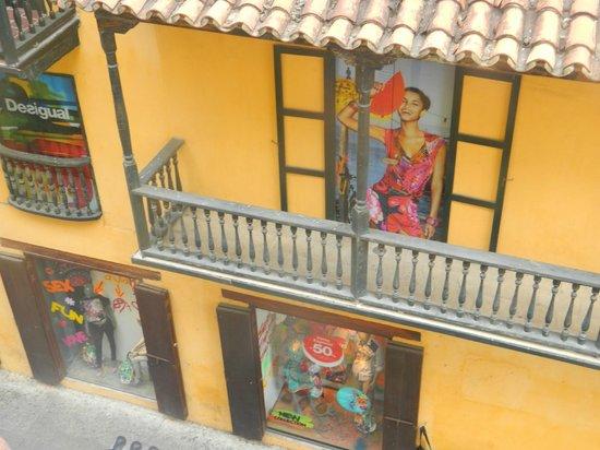 Hotel Torre del Reloj: Vista desde el balcon