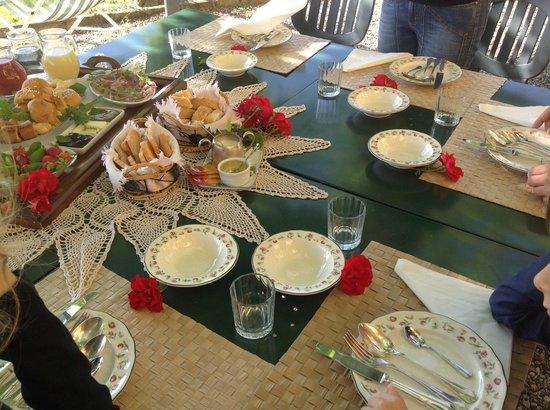 Le Colombaie - Maison de Charme: La prima colazione