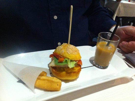 l'Aromat : Burger de Bouillabaisse