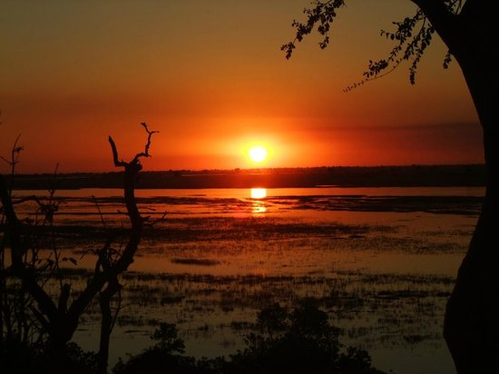 Sanctuary Chobe Chilwero: Another beautiful sunset