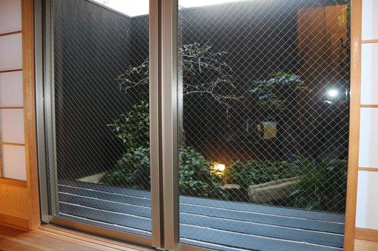 Kyomachiya Ryokan Sakura Honganji: Jardin privé