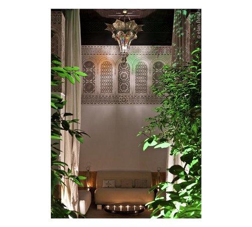 Riad Farnatchi: Back Courtyard