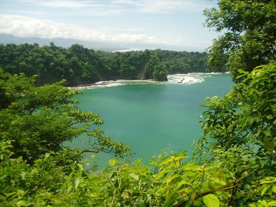 Manuel Antonio Nature Reserve & Wildlife Refuge: Manuel Antonio Park - view from lookout