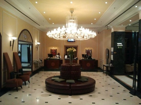 Radisson Blu Carlton Hotel, Bratislava: reception