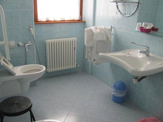 Agritur Girasole: bagno accessibile