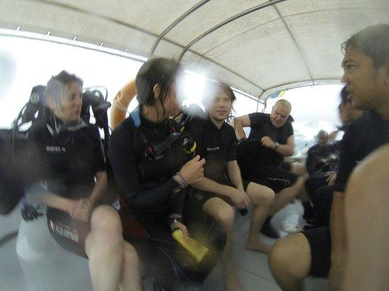 Tioman Dive Centre: After dive.
