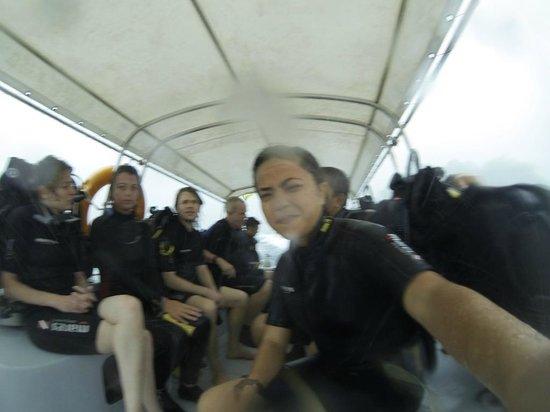 Tioman Dive Centre: With the divers.