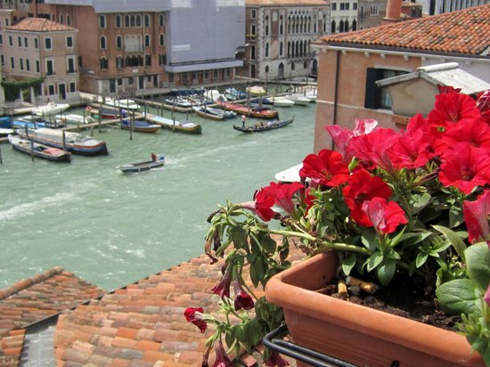 Foscari Palace: view from the roof terrace