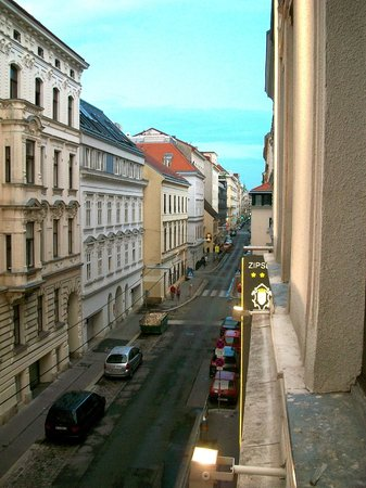 Hotel Zipser: View from our window