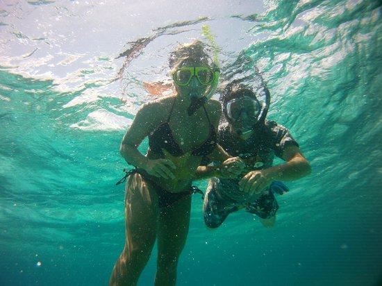 Punta Molas Faro (Molas Point Lighthouse): Starfish found snorkeling