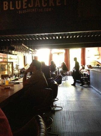 Churchkey: From bar to front sitting area