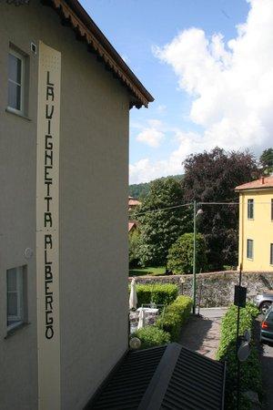 Albergo Trattoria La Vignetta : View from balcony.