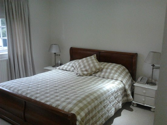 Statham Lodge Hotel: Double bed