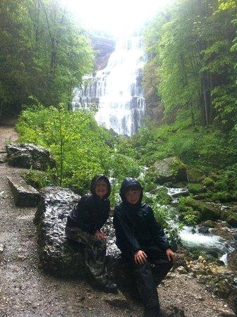 La Pergola: Cascades du herison