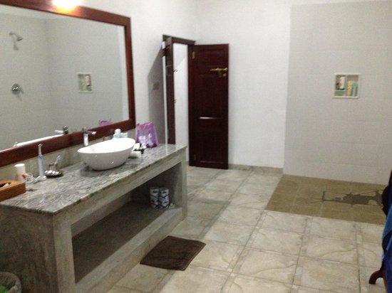 Shangri-Lanka Villa : The palatial bathroom in room 4