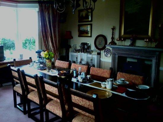 Lower Drayton Farm B&B: dinning room