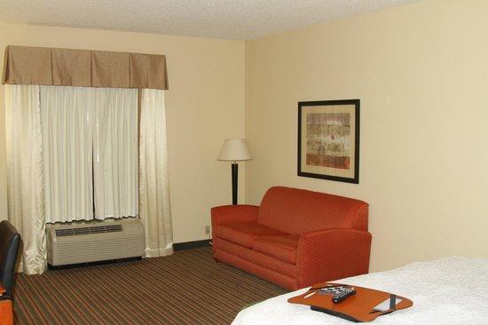 """Hampton Inn Harriman Woodbury: Номер с кроватью размера """"king-size"""" и диваном-кроватью"""