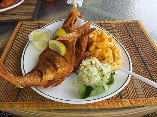 The Best Fish/Wahoo Sandwich in Bermuda!!! - Review of Woody's ...