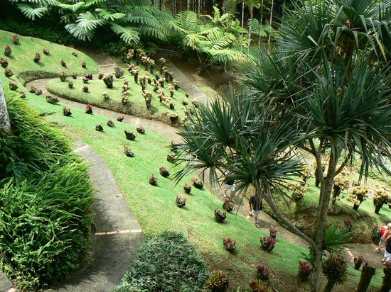 Jardin de Balata: Panorama