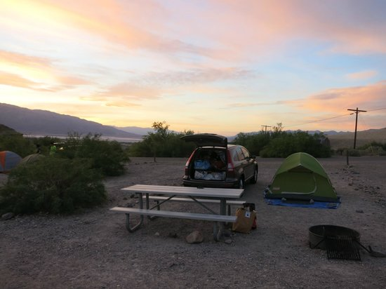 Texas Spring Campground: campsite