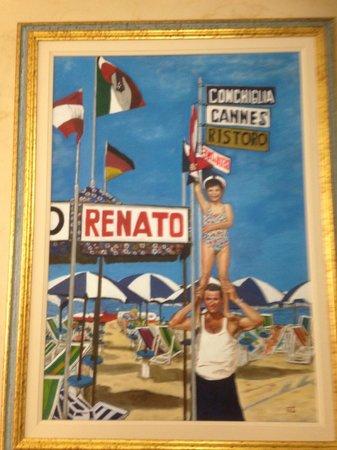 Hotel Cannes: Bagno Renato....