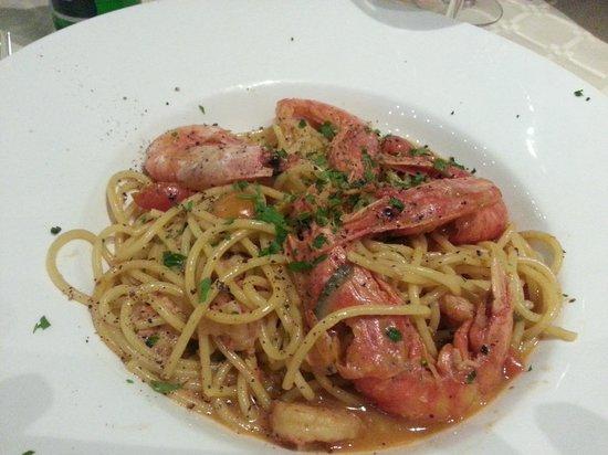 La Nostra Padrona: Spaghetti King Prawns