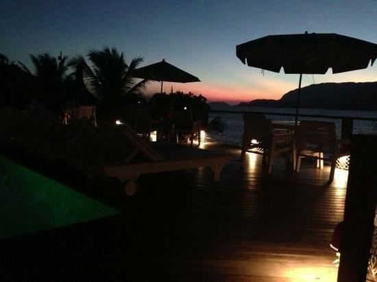 Barra do Piuva Porto Hotel: vista do deck da piscina! incrível!
