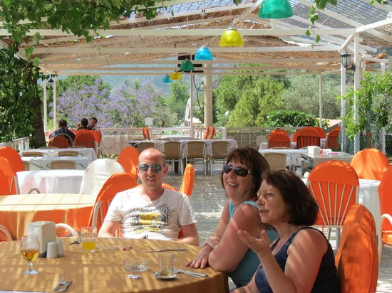Kumsal Pide: Relaxing on the roof terrace