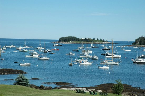 The East Wind Inn: View from East Wind Inn, Tenants Harbor, Maine