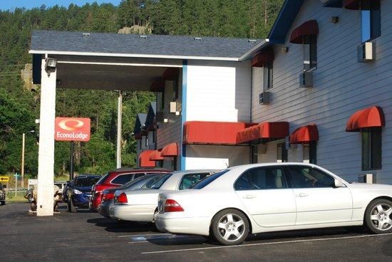 Econo Lodge Mt. Rushmore Memorial : esterno e parcheggio