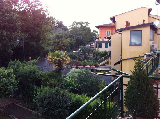 Michelangelo Guesthouse: from the balcony