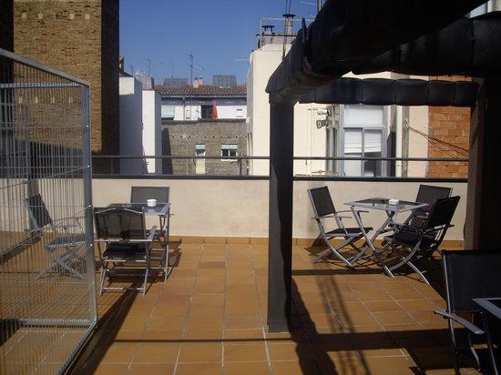 Live & Dream: L'agréable terrasse sur le toit