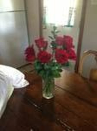 Pine Lakes Lodge B&B Resort and Conference Center: $70.00 flowers