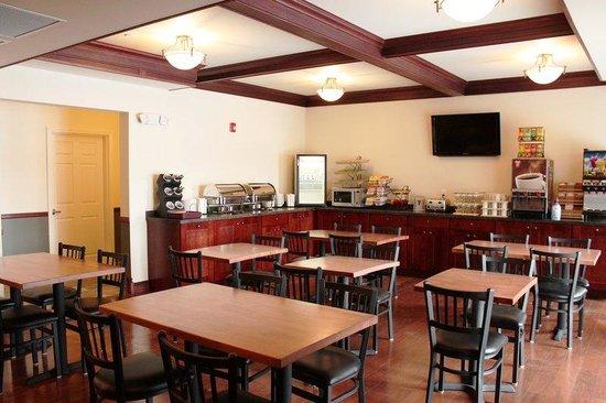 Noble Inn: Breakfast area