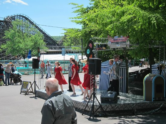 Elysburg, Pensilvanya: Free entertainment at Knoebels
