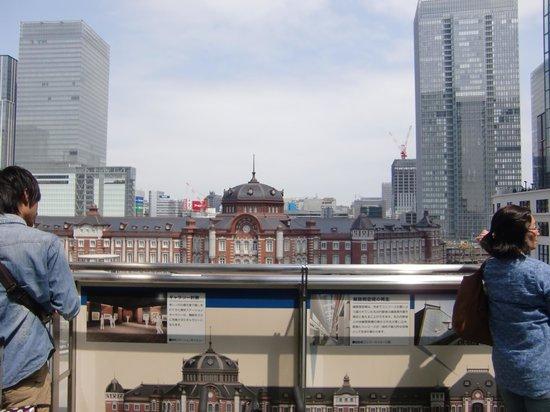 Marunouchi Building: テラスからの景色