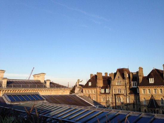 Rooftop Restaurant Ashmolean The View From Dining Room Terrace