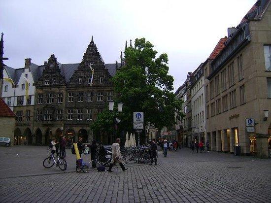 Lambertuskirche: St. Lambert´s Church, Münster, Alemania.