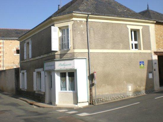 L'Ancienne Boulangerie : El edificio por fuera, muy auténtico