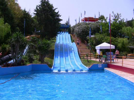 TOBOGANS - Picture of Aqualand, Agios Ioannis - TripAdvisor