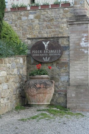 Poderi Arcangelo Agriturismo Farmhouse : Ben arrivati