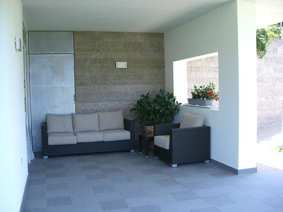 B&B Arco Garda Rooms : Terrasse