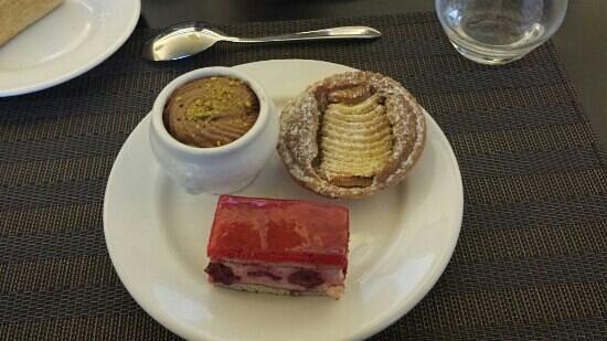 Forges Hotel : les delicieux dessert