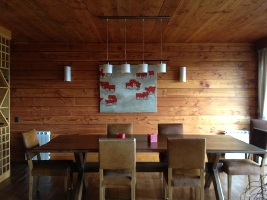 Rio Pico, Аргентина: Dining Table at the Lodge
